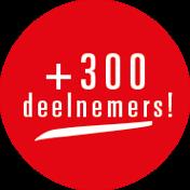 +300 deelnemers!